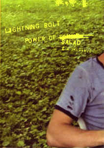 LIGHTNING BOLT Power of salad & milkshakes