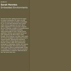sarah-hennies-embedded-environments-lp-blume-records-2018